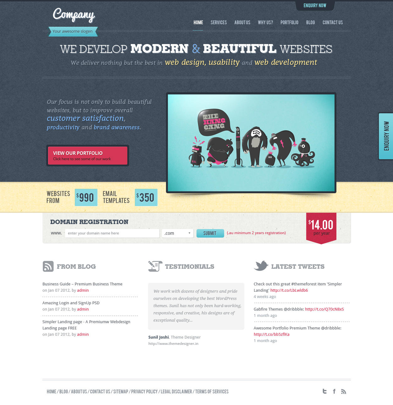 Customized WordPress Theme by VictorThemes - 17943