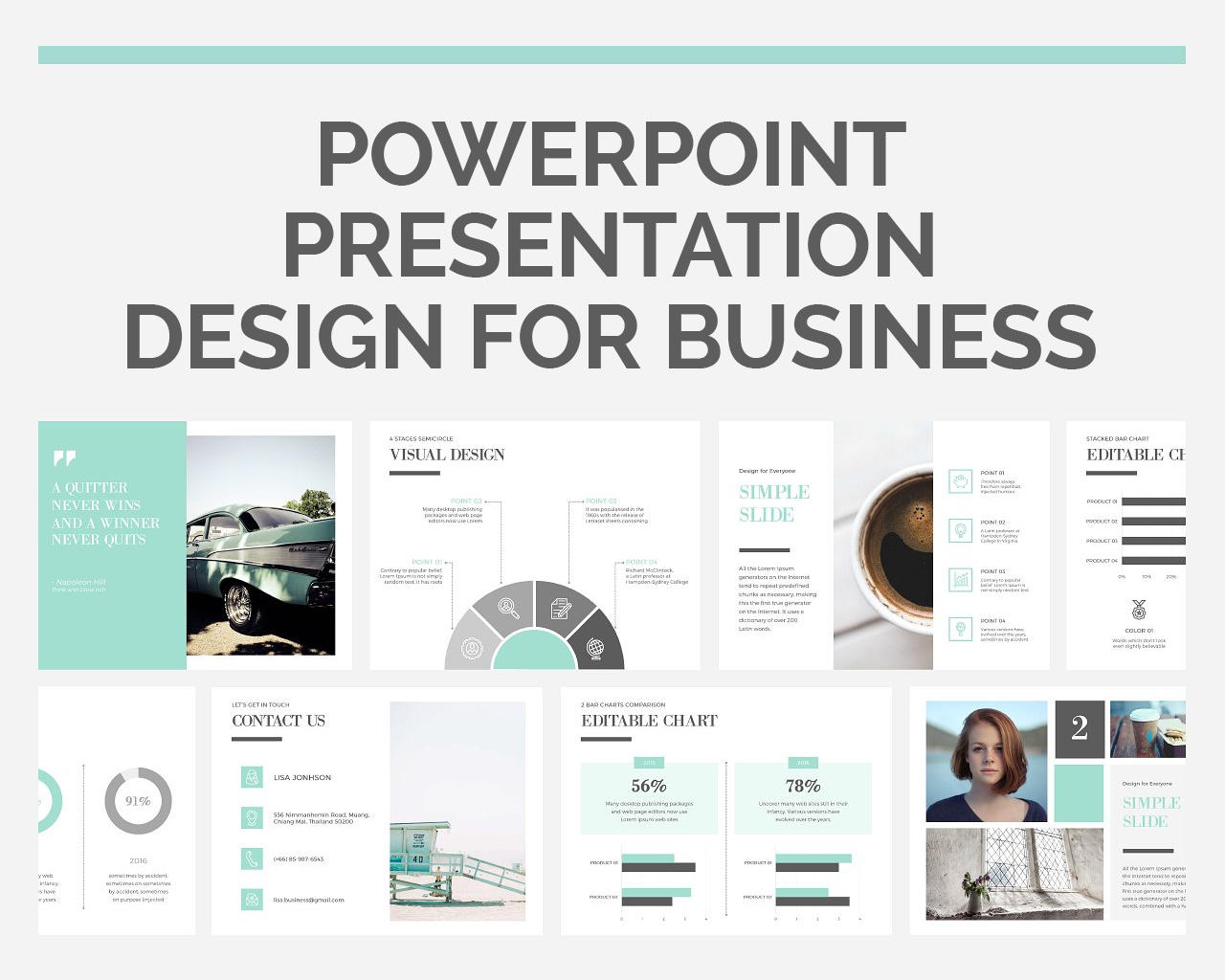 PowerPoint Presentation Design for Business by madridnyc - 106571