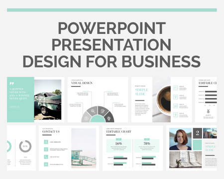 presentation design services on envato studio