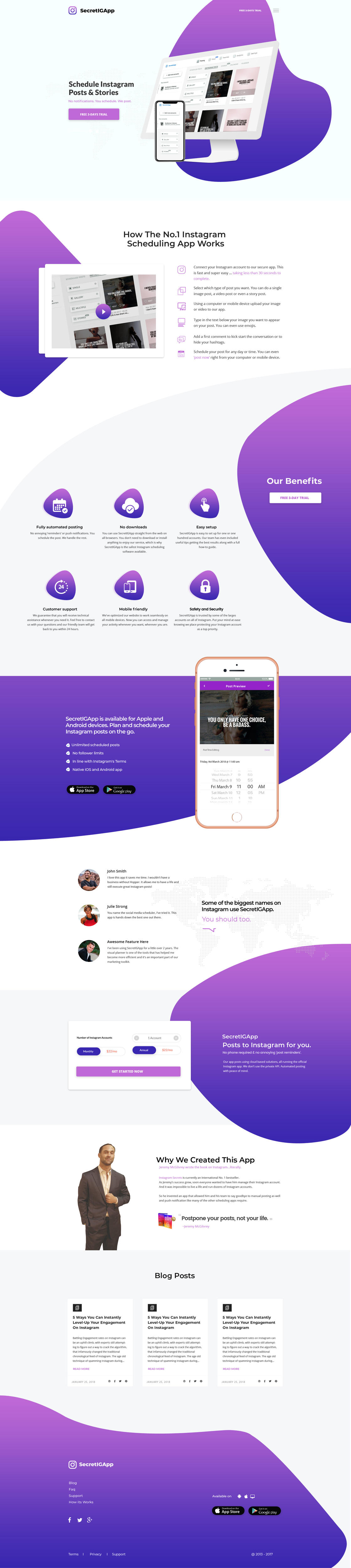 Creative Website Homepage Design / Redesign / Landing Page / One Page by waelsadek - 110857