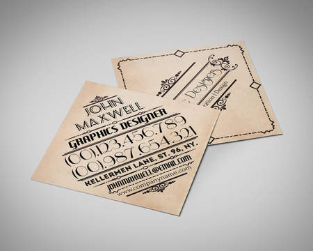 Business card design services on envato studio creative professional business card design reheart Choice Image