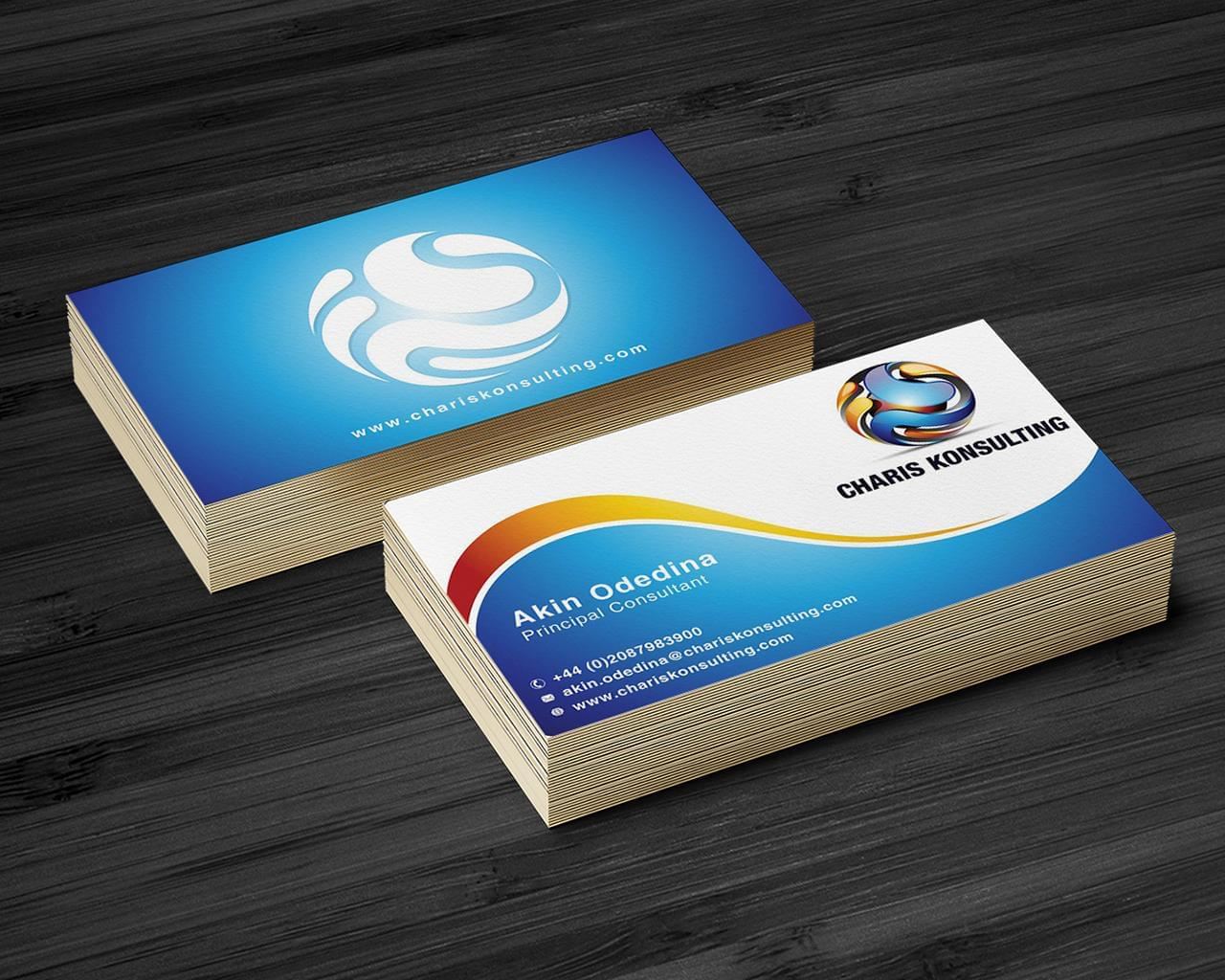 Custom Business Card Design by AbsolutDesign - 112245
