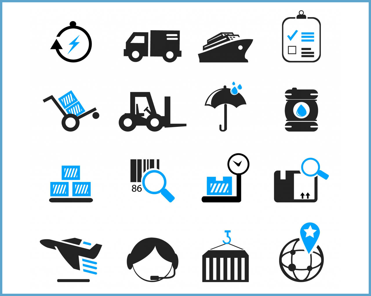 Professional FLAT Icon Set Design by Creative_S2dio - 102928