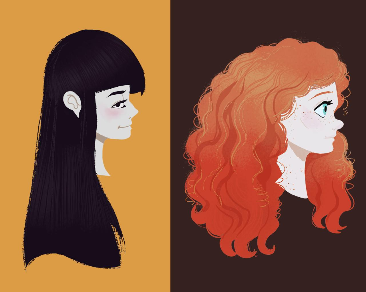 Simple Cartoon Portrait by arehime - 88881
