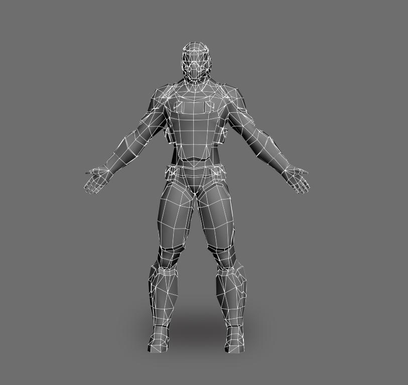 Low Poly Character Modelling by playdesign - 12344