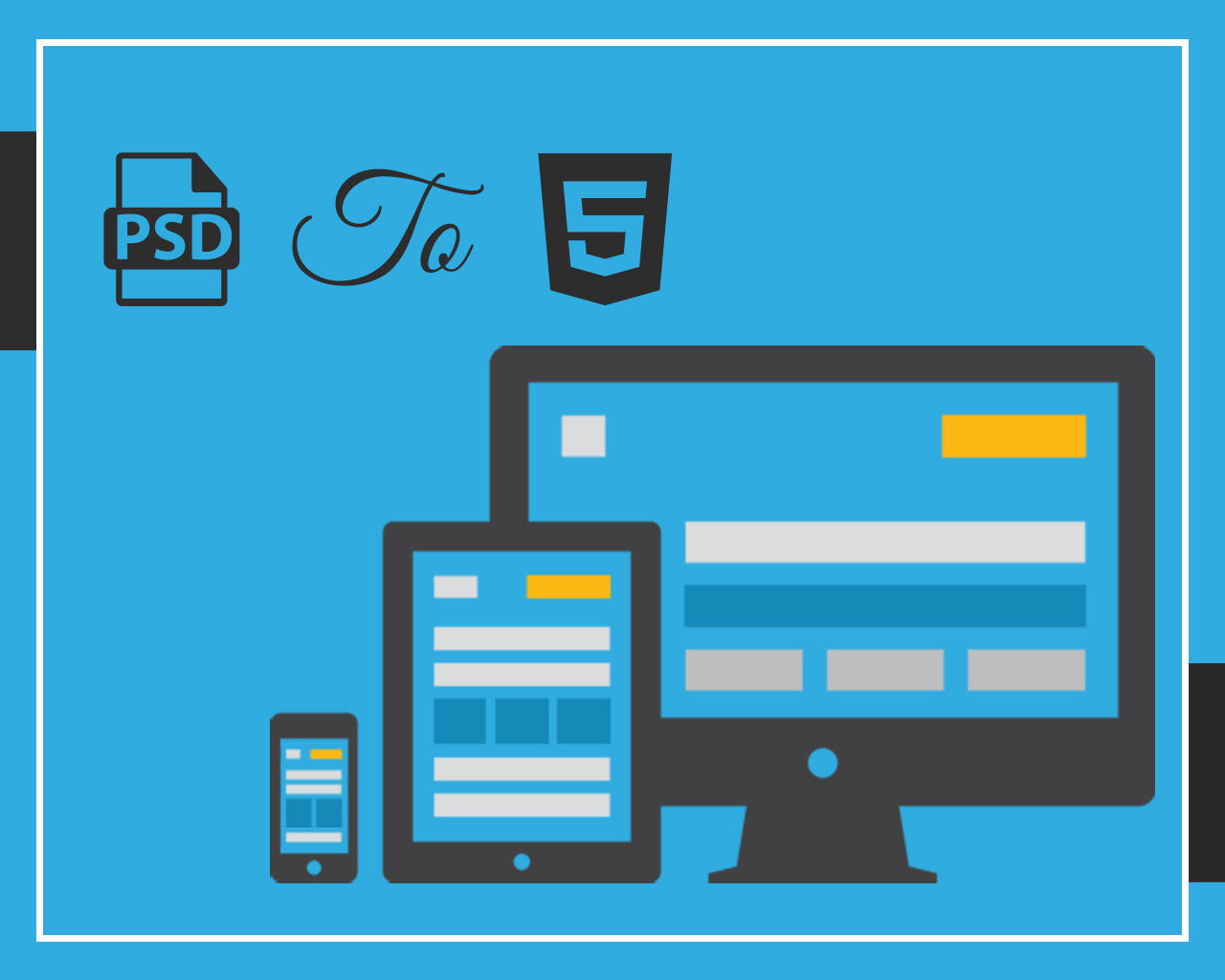 PSD to HTML5 + CSS3 (Responsive) by AzherJawed - 79231