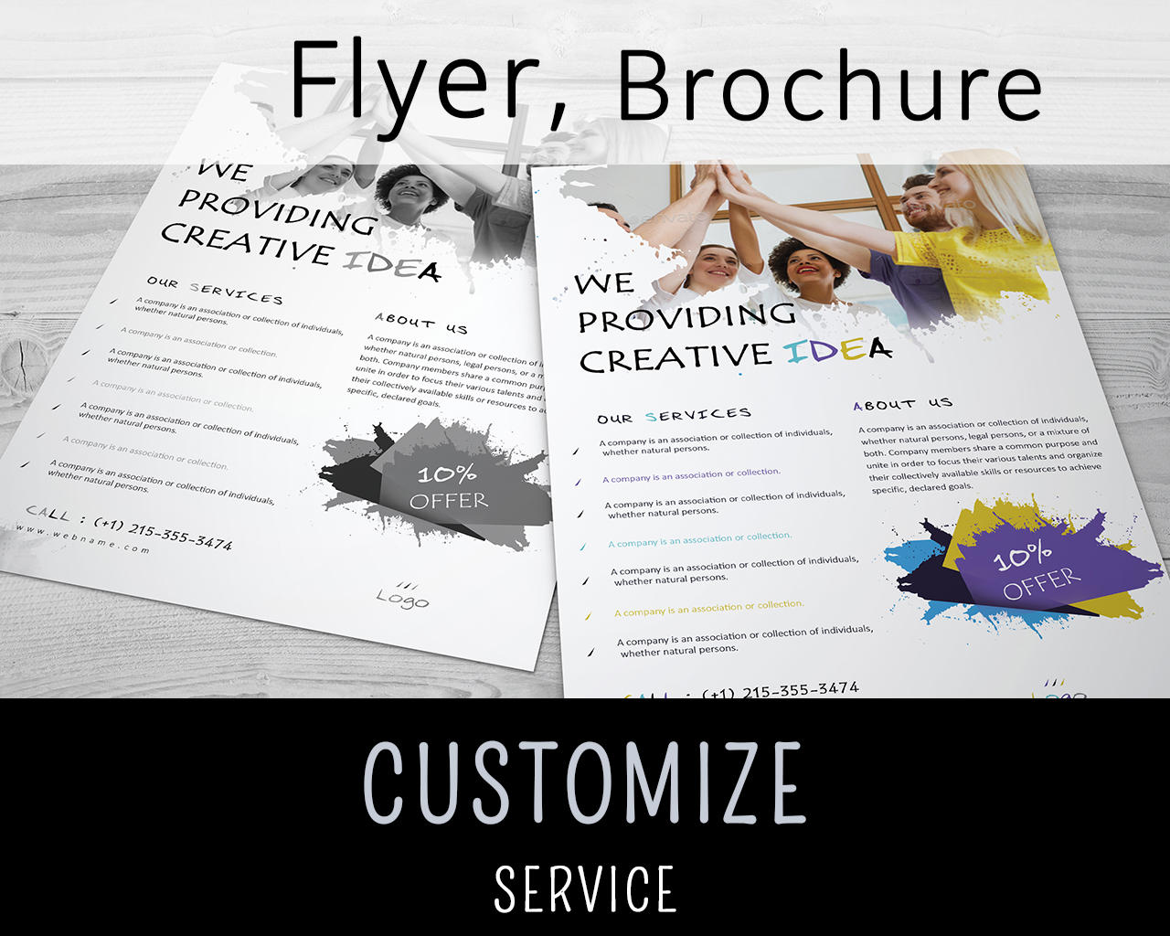 Flyer, Brochure Customization by arnabkumar - 98106