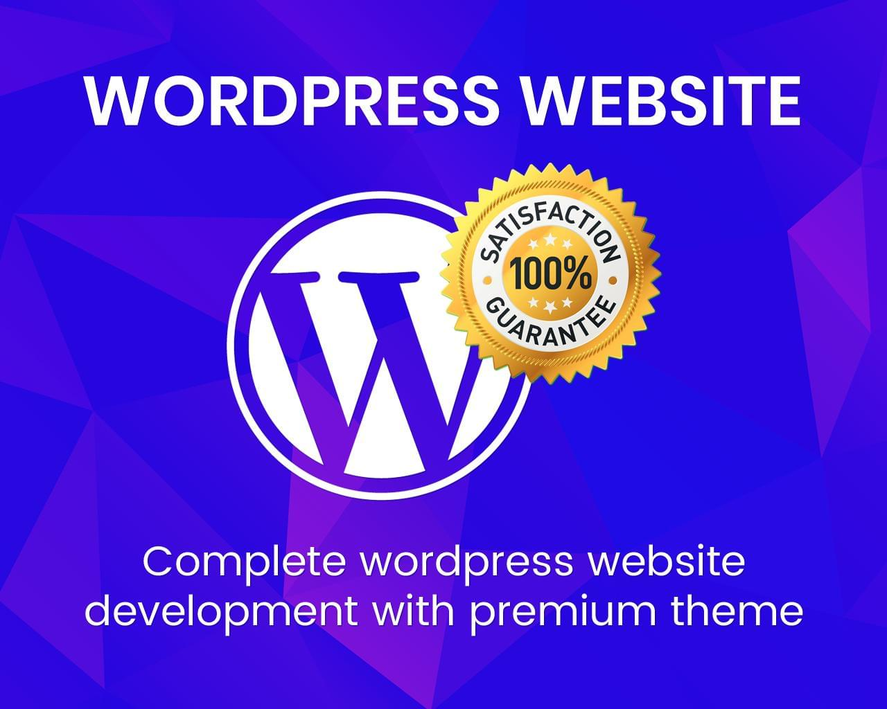 Complete WordPress Website Development by uipro - 113351