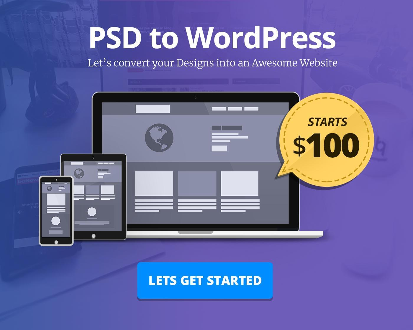 PSD to WordPress Website Development by BloomPixel - 112808