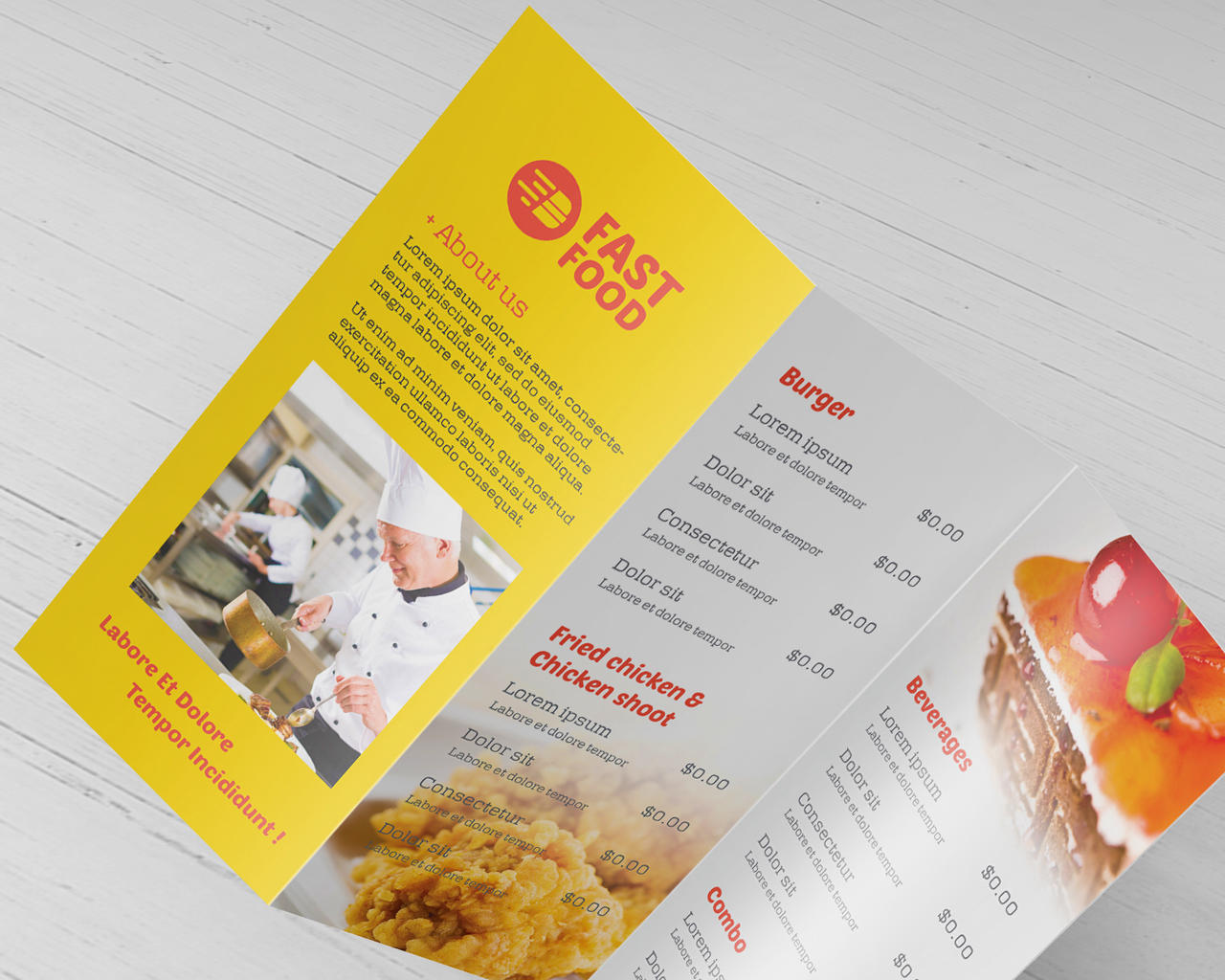 Bifold & Trifold Brochure Design by Wutip - 101945