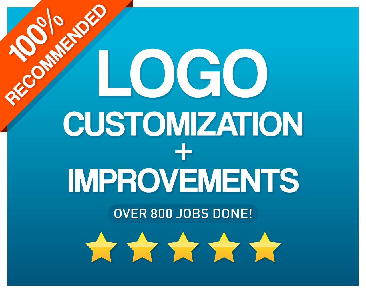 Logo Customization + Improvements by CvLd_Design - 105593