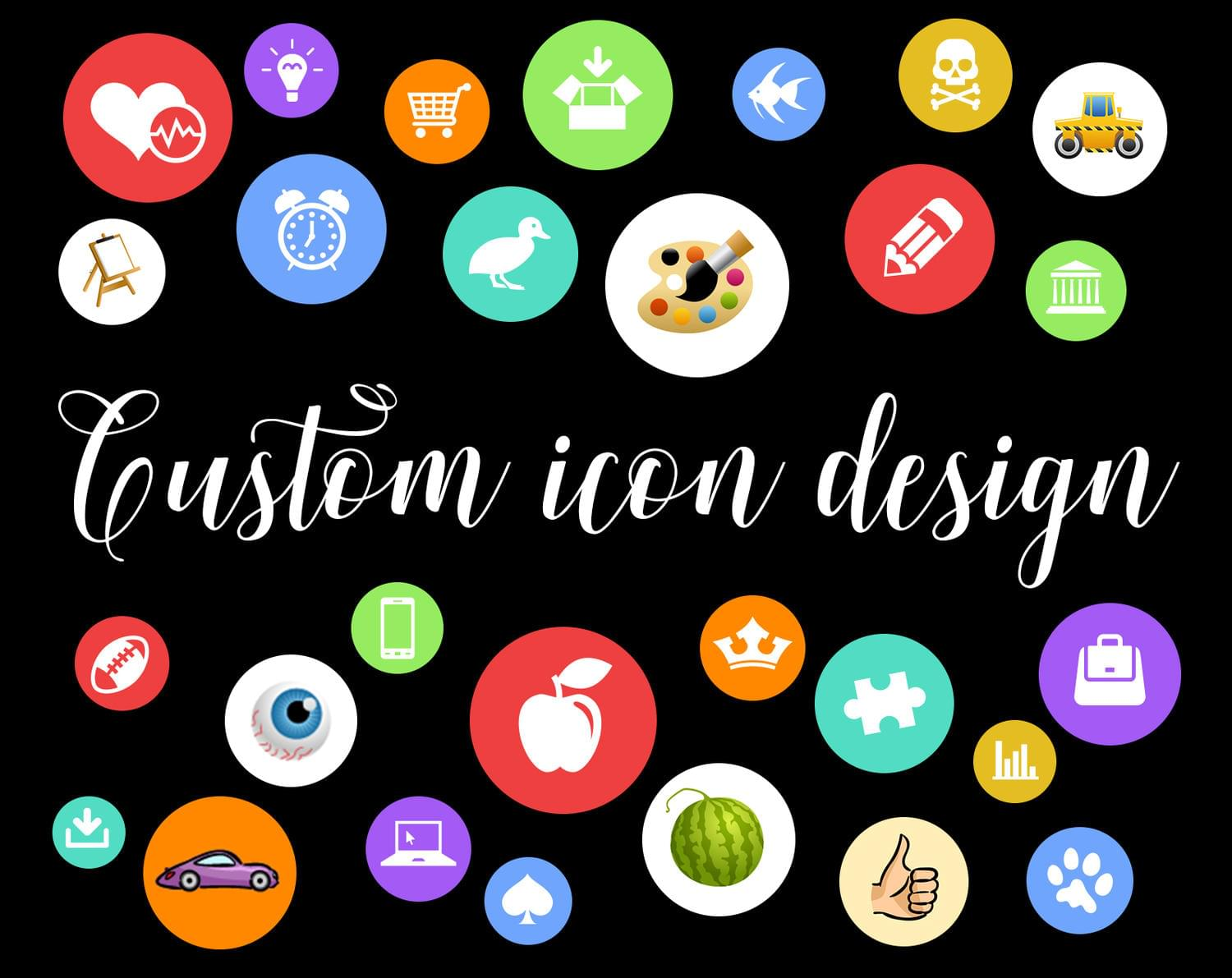 Custom Icon Set Design by vectorocean - 112897