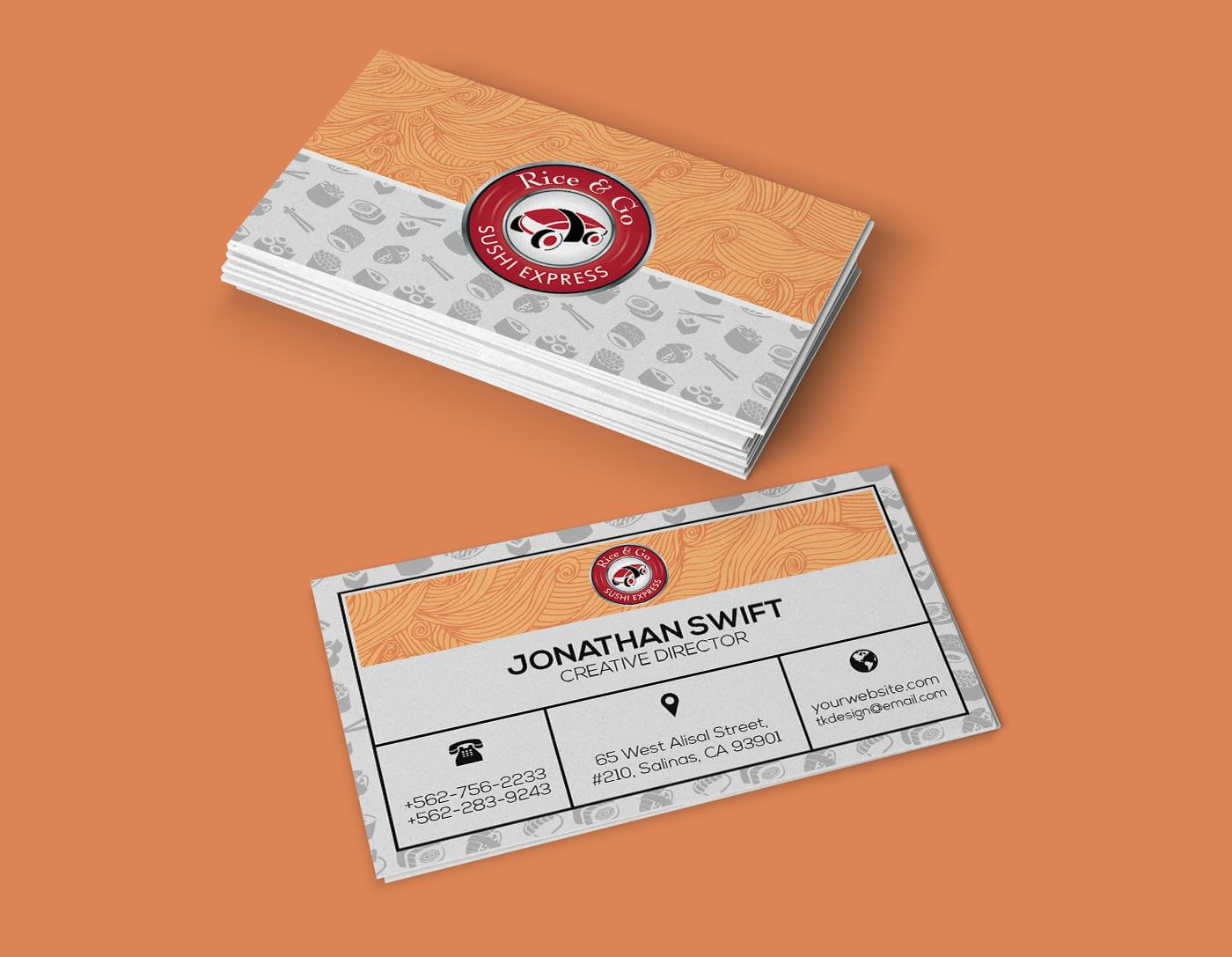 Business Card Design by TodorKolevDesign - 113795