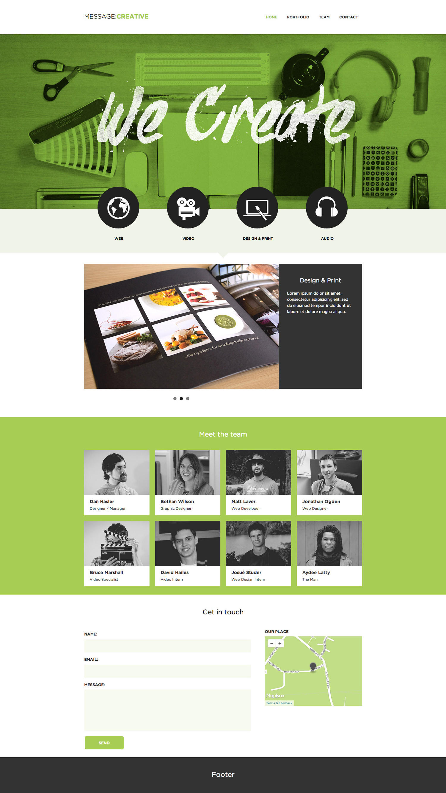 Responsive HTML Website Customization by VictorThemes - 24143