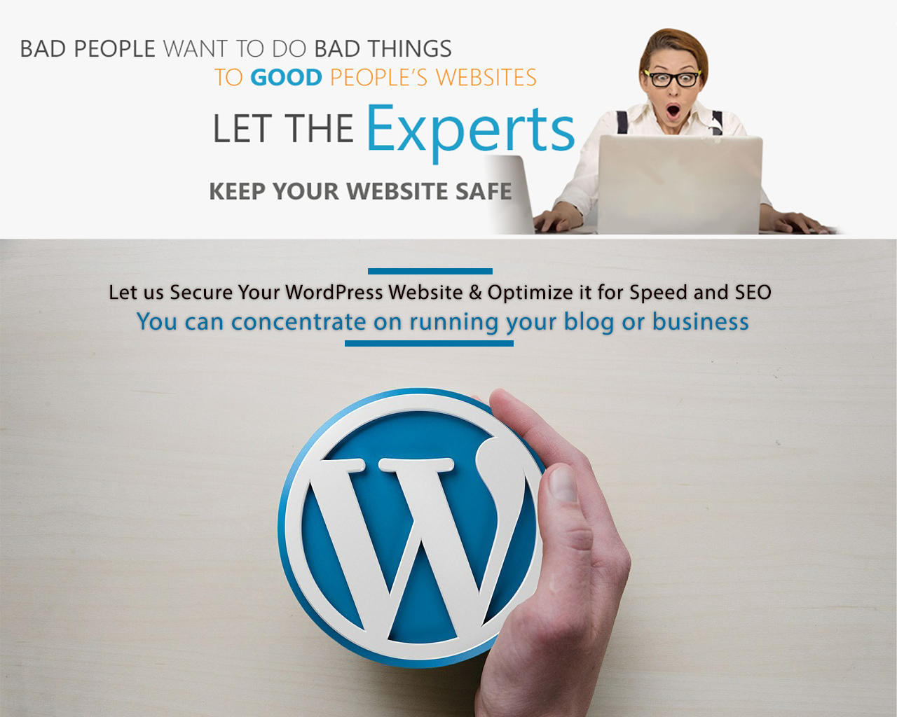 WordPress Backup, Security, Speed up & SEO Service by quantumcloud - 101485