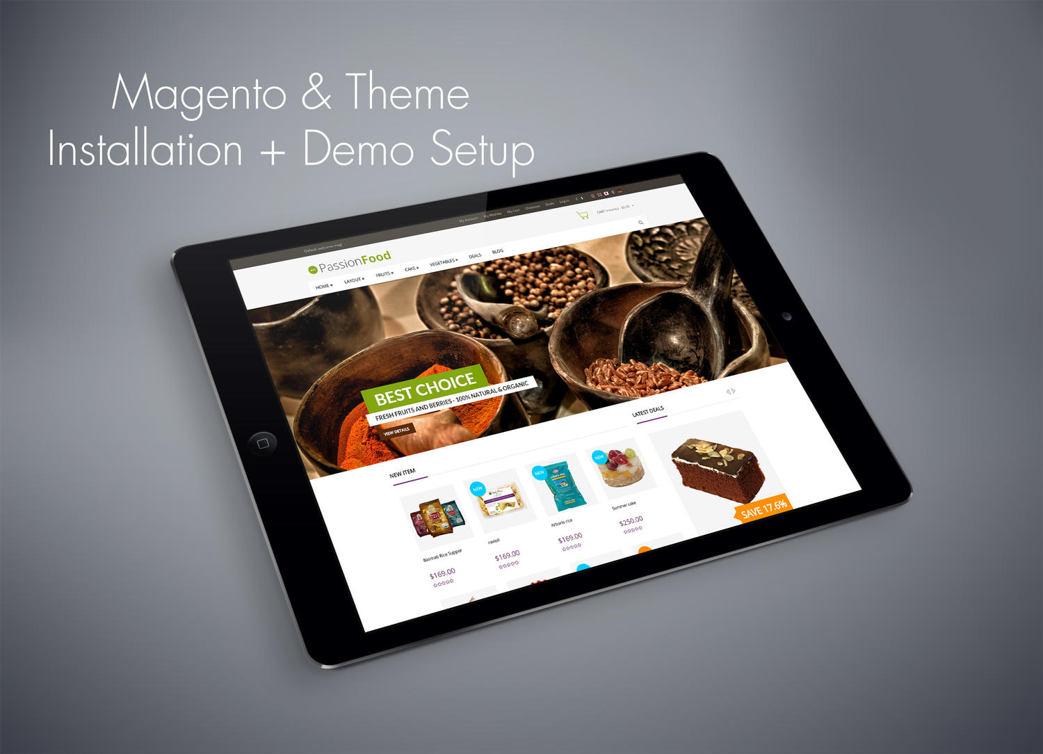 Magento & ThemeForest Theme Installation Plus Demo Setup by sandroo - 68143