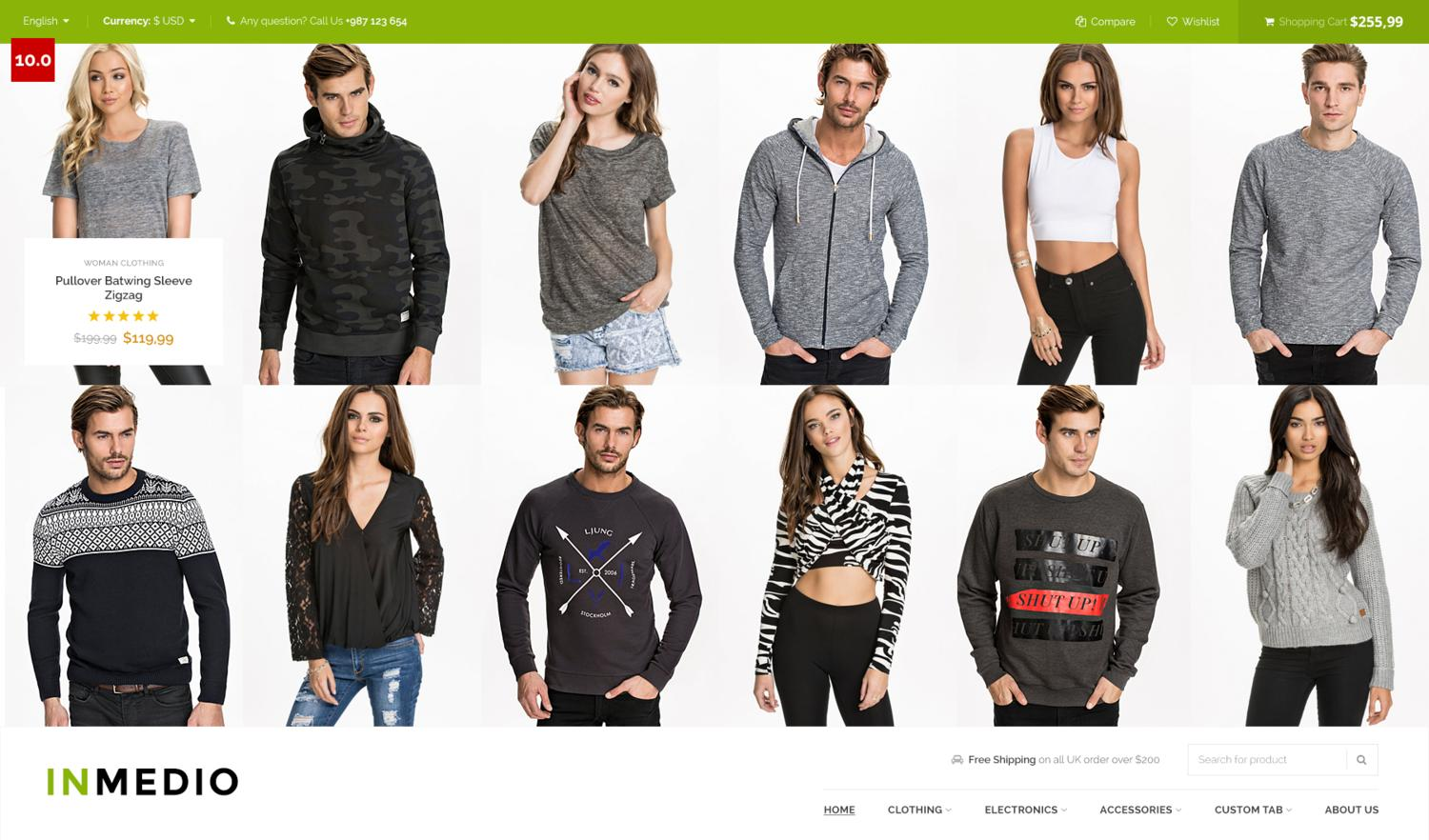 Magento Theme Installation by p-themes - 79305