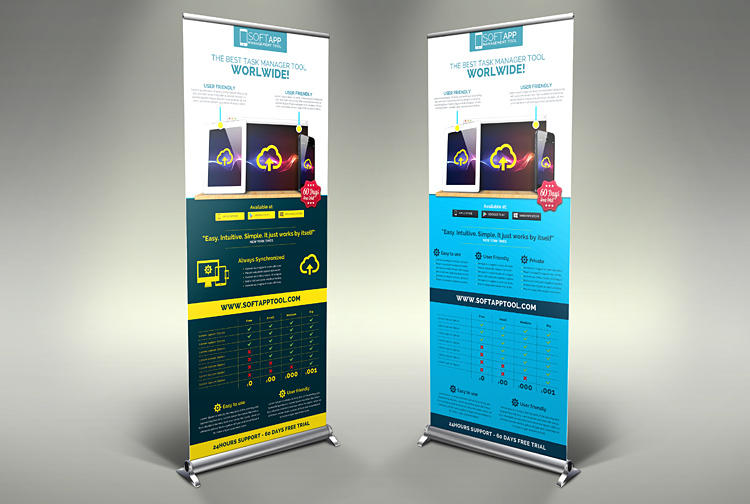 Signage Roll Up Banners and BillBoard Customization by HollyMolly - 50262