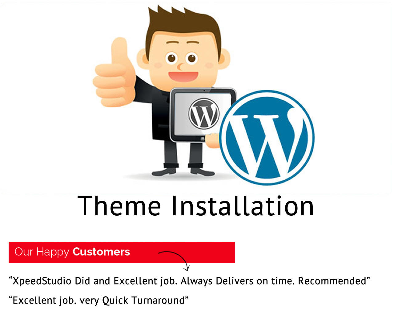 WordPress Theme Installation (Demo Content Install & Plugin Install + SEO Extensions by XpeedStudio - 98887