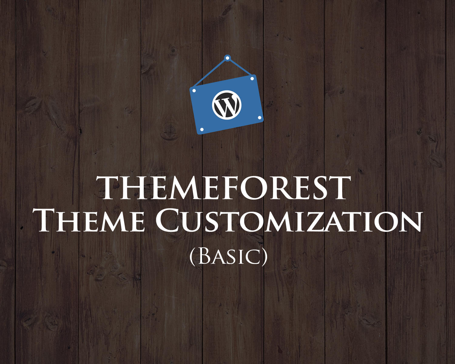 Themeforest Theme Customization (Basic) by hasanet - 98525