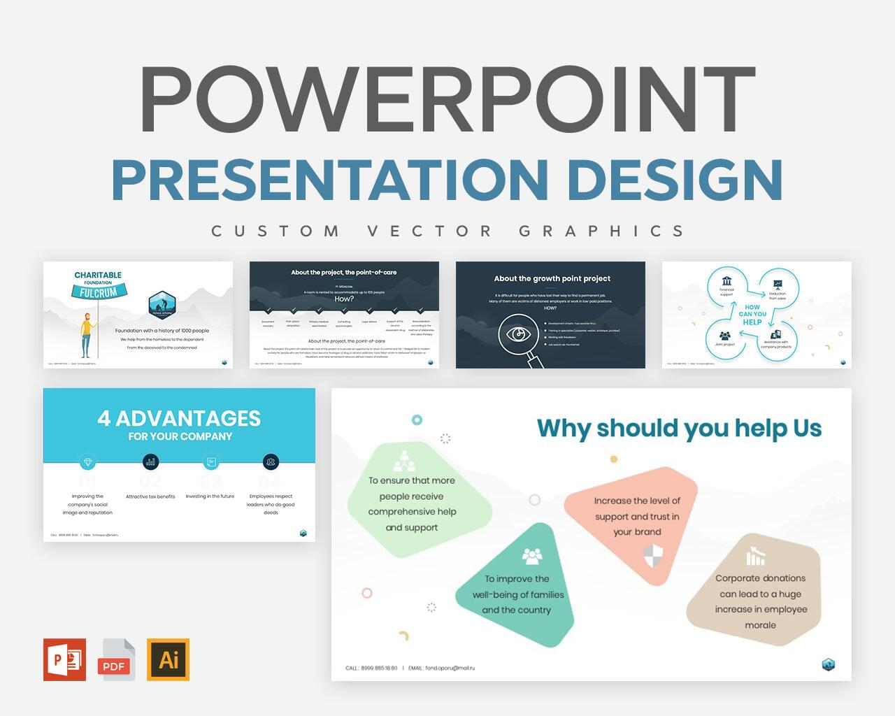 Professional Powerpoint Presentation Design  by Graphicsc - 117537