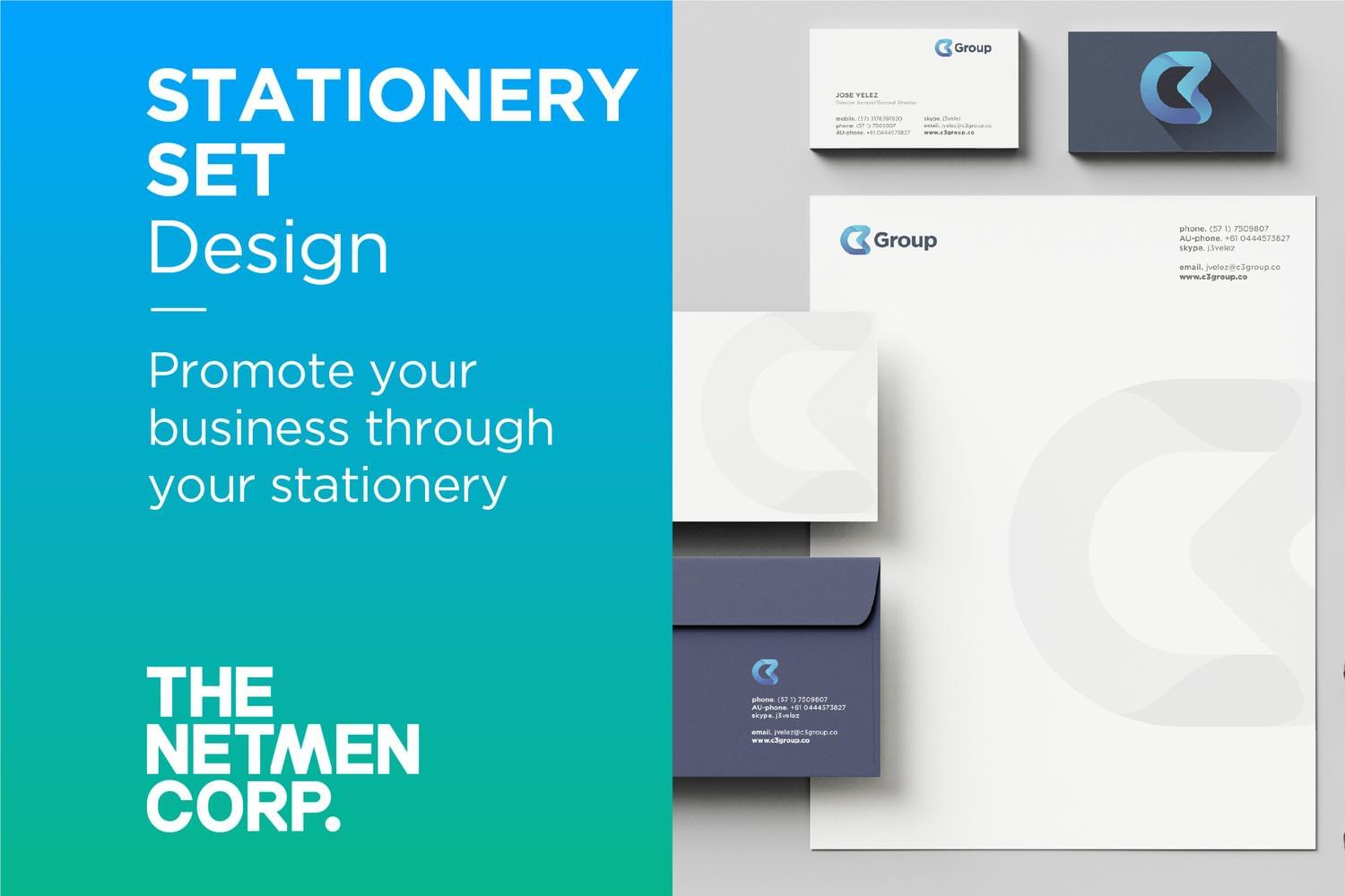 Custom and Original Stationery Set Design by thenetmen - 119526