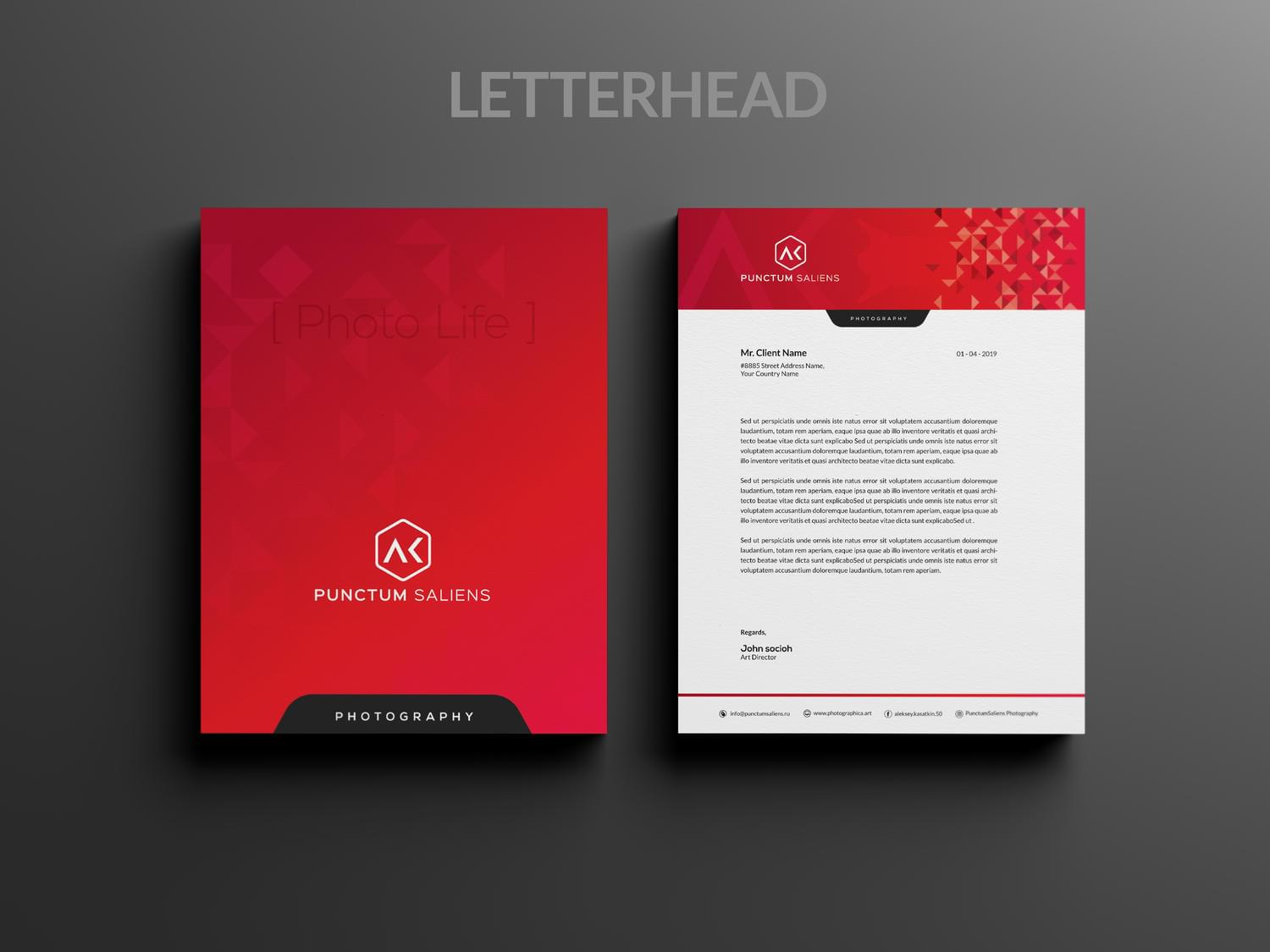 Letterhead Design by -axnorpix - 115709