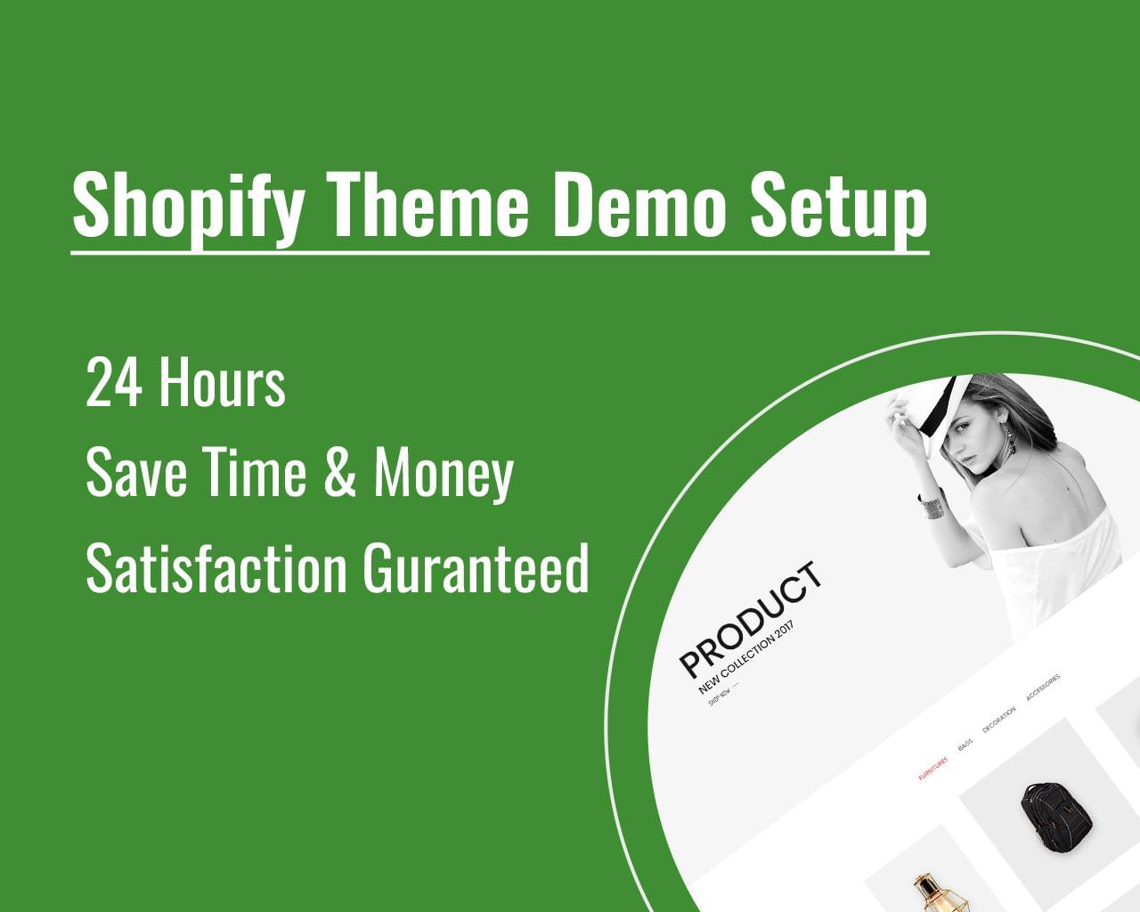 Shopify Theme Installation and Demo Setup by HasTech - 112540