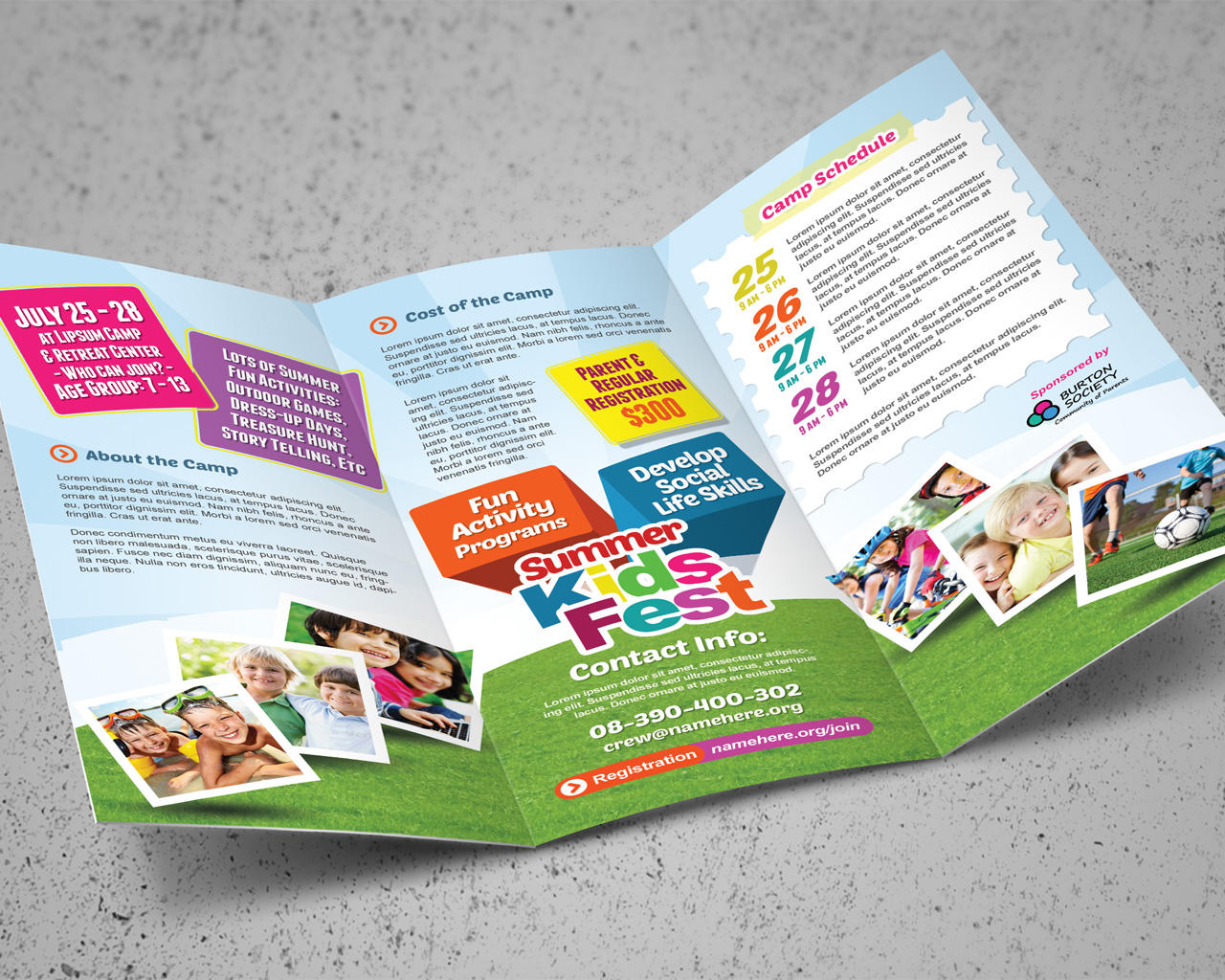 Tri-fold or Bi-fold Brochure Design by kinzi21 - 85524