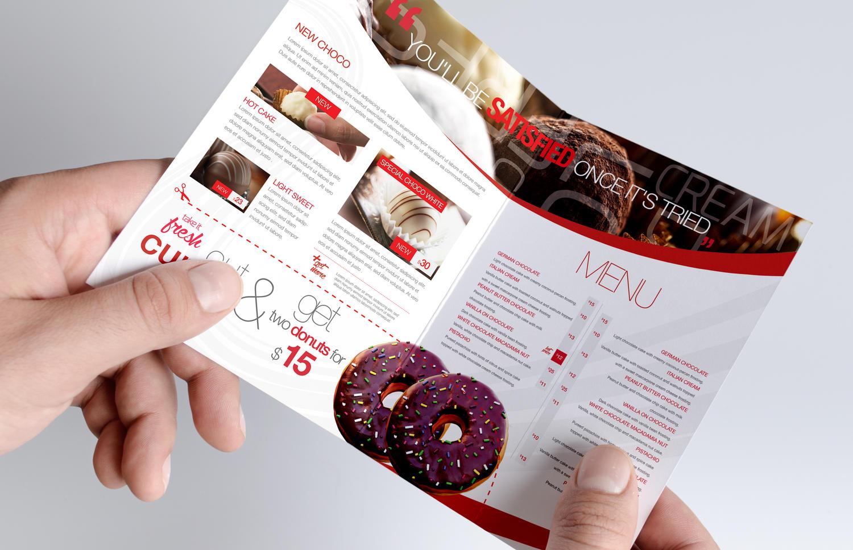 professional bi fold brochure design by unicogfx on envato studio