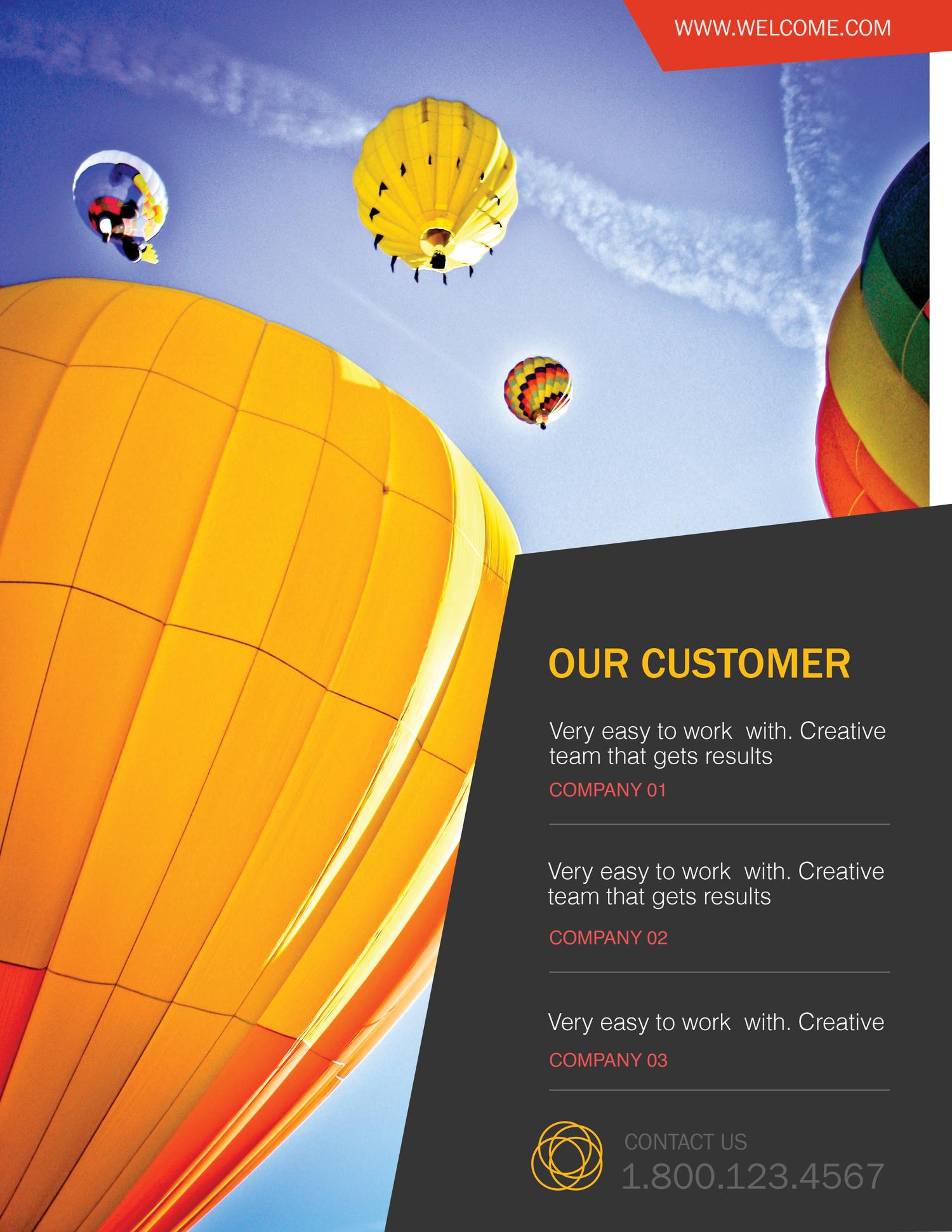 Corporate Flyer Design by DesignDistrict - 3453