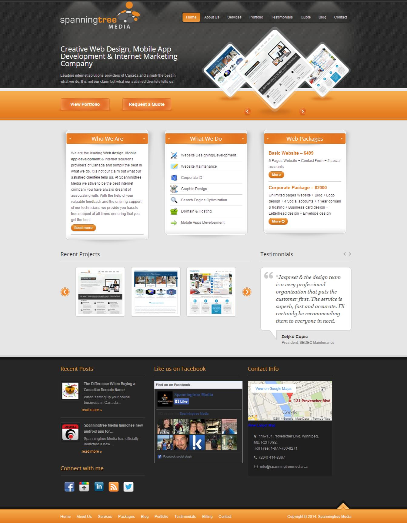 Website Design, Re-design and Development by jassimath - 54187