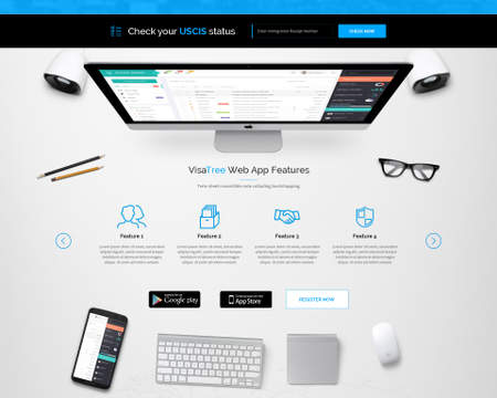 Premium Landing / One Page Web Design