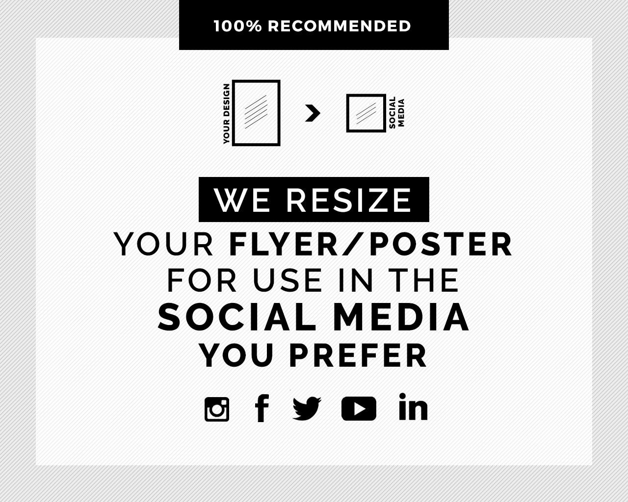 Resize Your Existing Design For The Social Media Of Your Choice. by touringxx - 120005