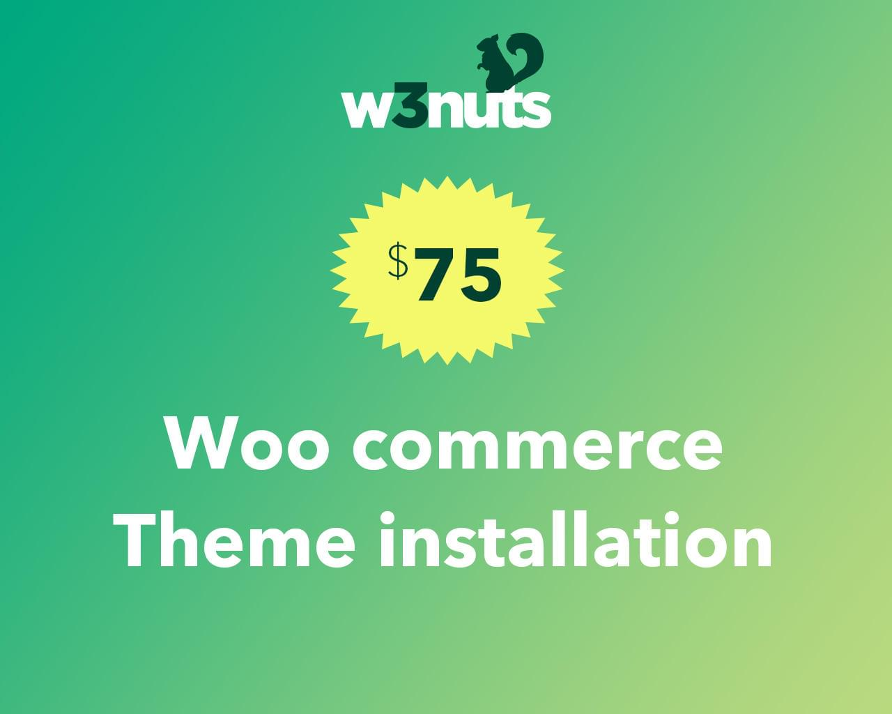 Woocommerce Theme Installation Service by samirkaila - 116109