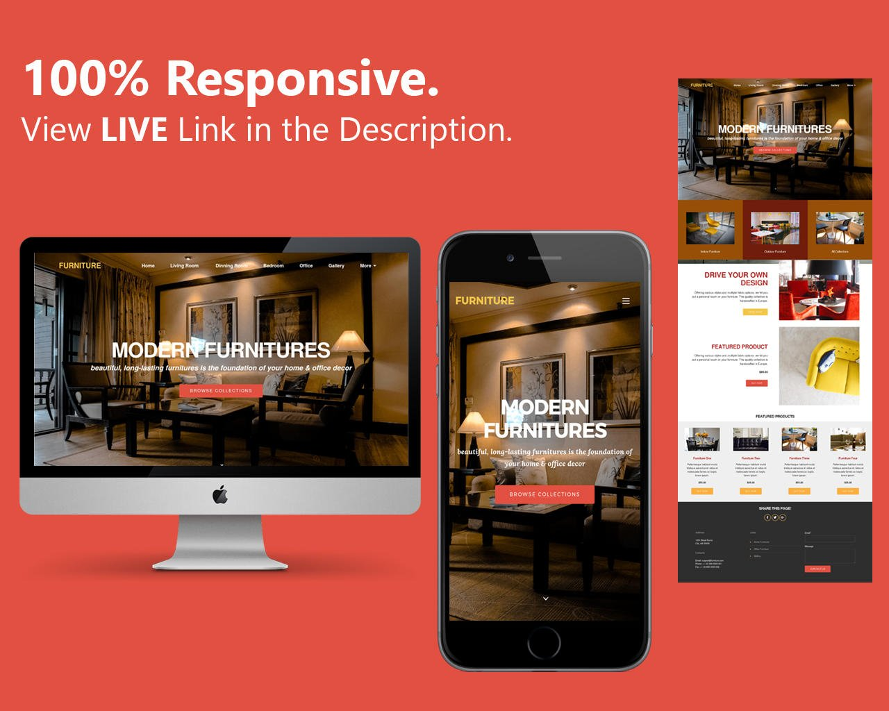 Responsive Website by design_kd - 107258