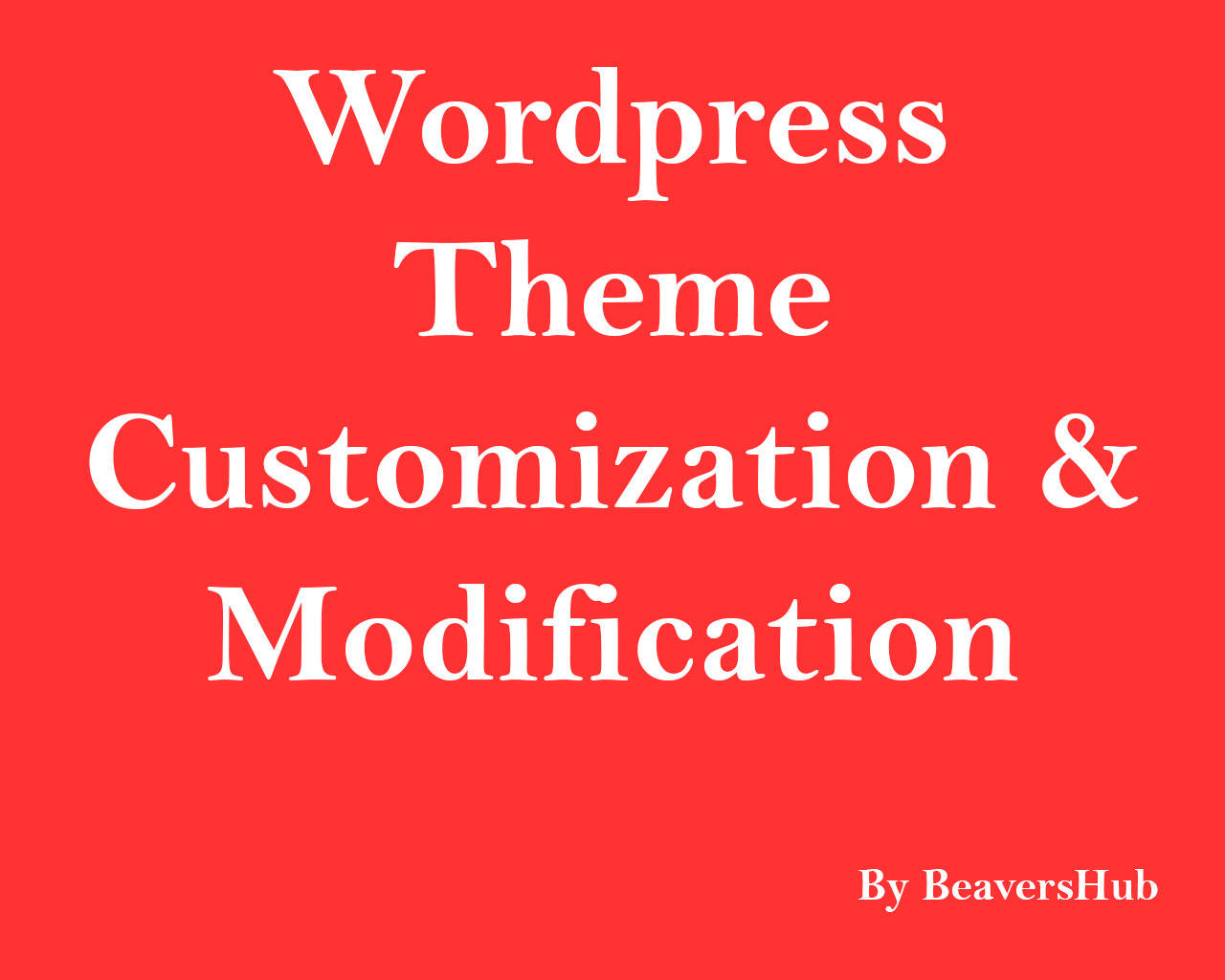 Wordpress Theme Customization & Modification by ArtyChristina - 105783