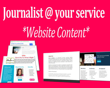 Web content service