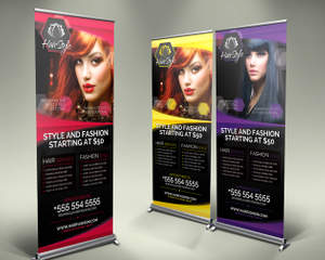 Signage Roll Up Banners And Billboard Customization By Hollymolly On Envato Studio