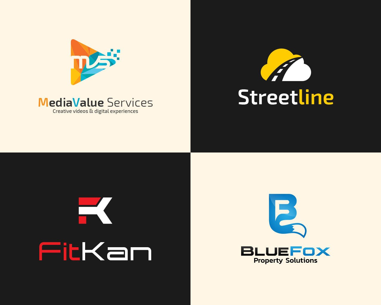 logo design branding services on envato studio professional and creative logo design