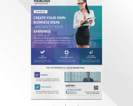 Design Professional Flyer Or Poster By Ronitashkodra On Envato Studio