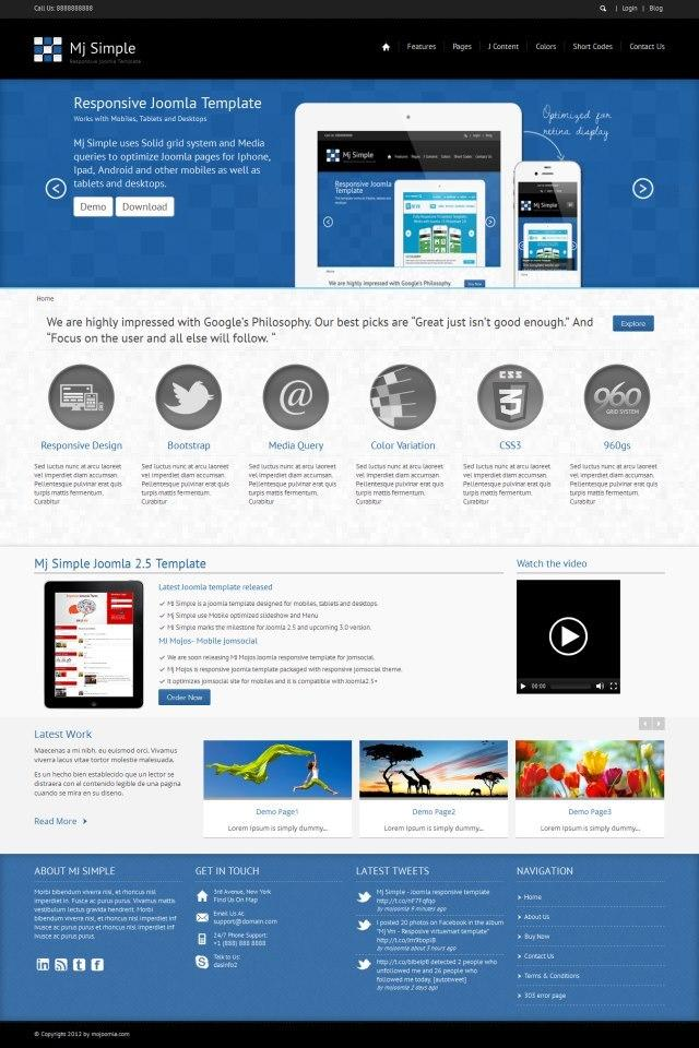 Joomla  Customization by dasinfomedia - 16552