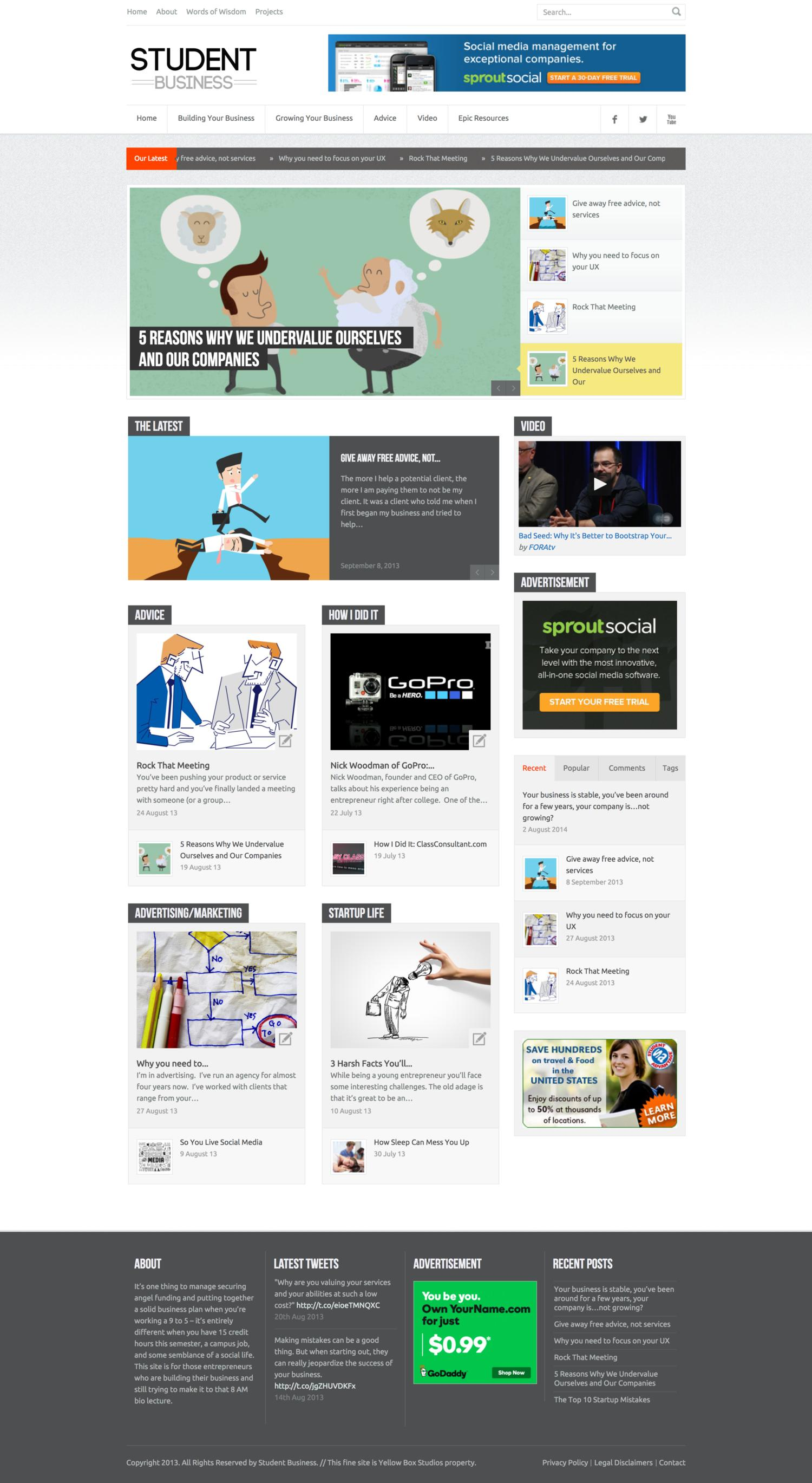 Expert Blog Articles by yellowboxstudios - 105725