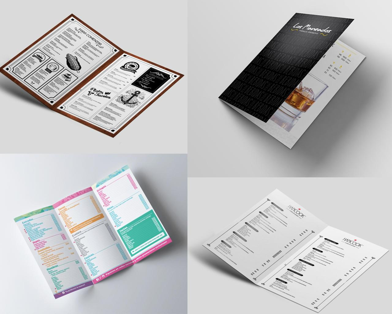 Exclusive Restaurant Menu Design by ExcelloBranding - 115243