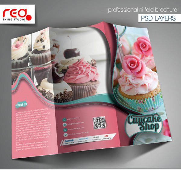 tri fold brochure design by redshinestudio on envato studio