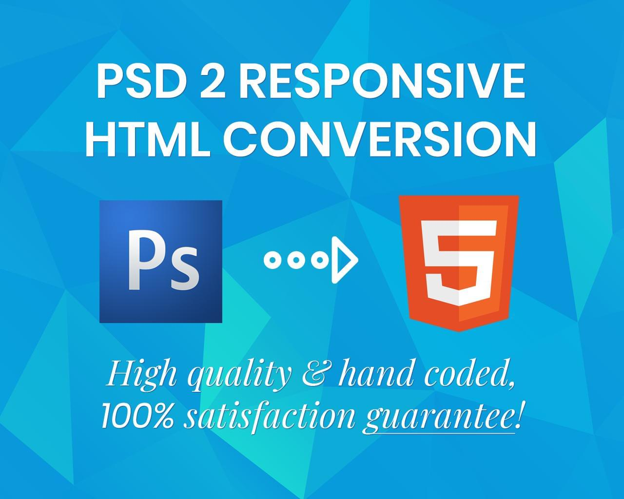 PSD to HTML Conversion (Responsive, Hand Coded and W3C validated) by uipro - 113317