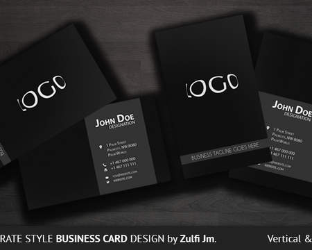 High end business card design by thanhsugar on envato studio custom business card reheart Image collections
