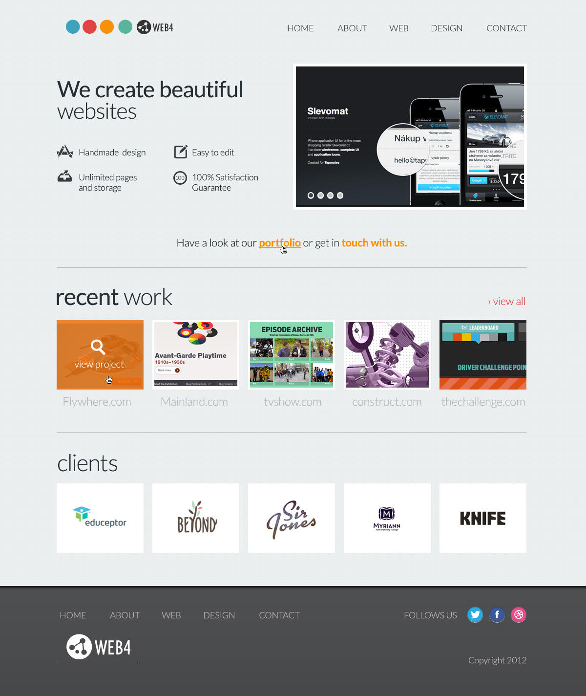 Website Home Page Design by ezikel - 13045