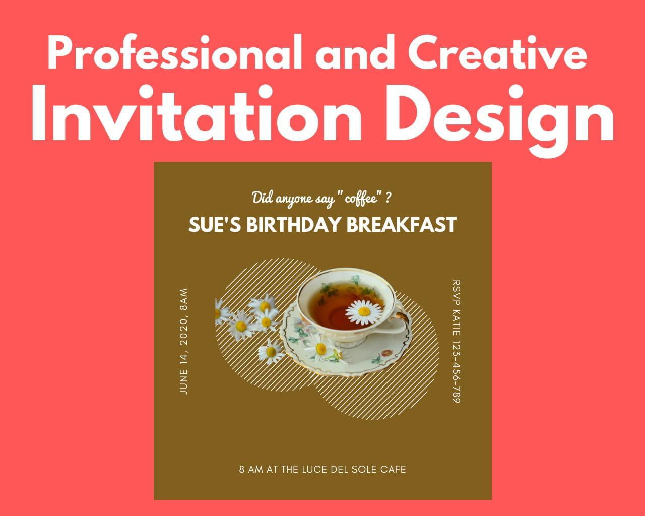 Professional and Creative Invitation Design by DePautaMadre - 119483