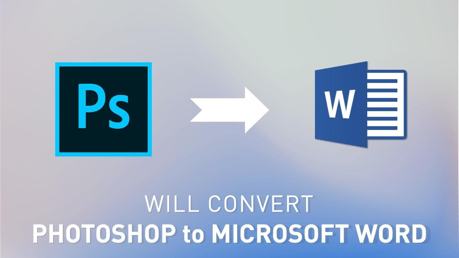 Convert Photoshop To Microsoft Word by arvaone - 115073